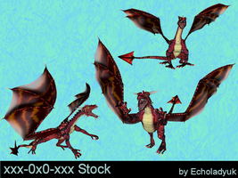 Red Dragon pack of 3 by xxx-0x0-xxx