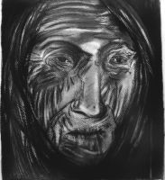 old woman by psychopathic-jad