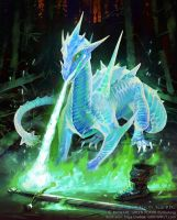 Spectral Drake by Griffinfly