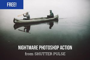 Free Photoshop Actions Nightmare Action by Designslots