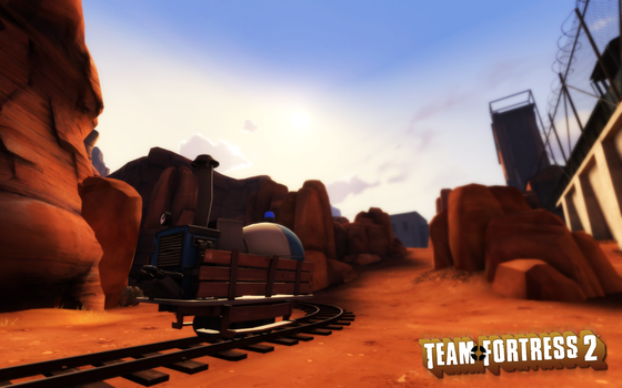 TF2 Wall: Badwater by aksumka