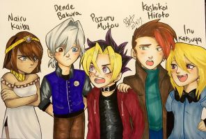 YGO! Next Generation Kids by Brookestar4