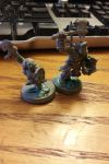 Unfinished HobGoblin and Dwarf Miniatures by GrindCrusherCorps