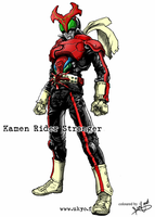 Kamen Rider Stronger Coloured by aminkr