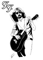 Dave Grohl by deanfenechanimations