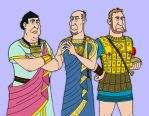Ptolemaic Courtiers by VoteDave