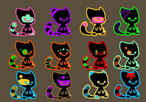 FREE GLOW adopts .:OpEn:. by DOV3PAW