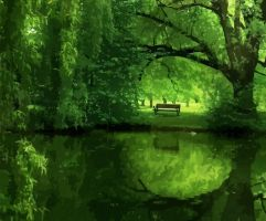 the Enchanted Wood by IronHa by ghassan747