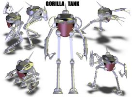 Gorilla Tank by Doomsday-Device