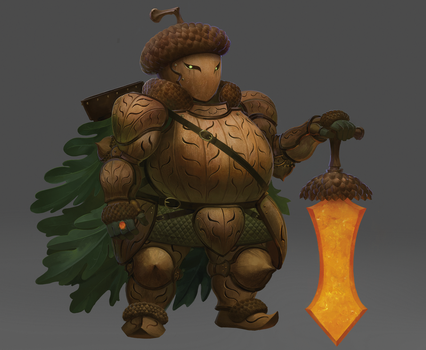 Acorn Knight by Eyecager