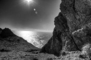 Rocks on the Coast by MikeDaBadger