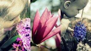 Spring Collage by katseyecreations