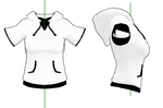 MMD- Short Sleeved Hoodie -DL by MMDFakewings18