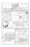 TF Animated Botcon page 3 inks by MarceloMatere