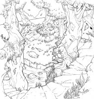 fairy forest inks by thenota