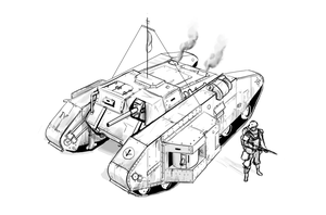 Scathen medium tank by Csp499