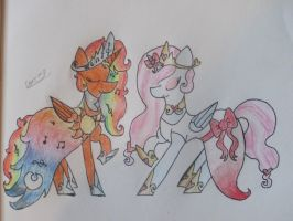 Sisters of Elegance- Contest Prize by Princess-Corrine