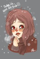 Baby it's cold outside... by ChocoRevolution