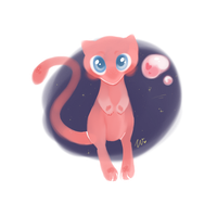 Mew by wivimon