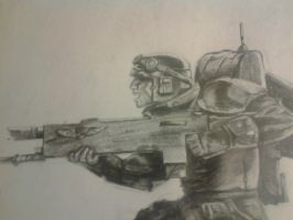 Imperial Guardsman by leo196