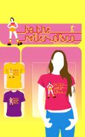 Roller Disco : T-Shirt Design by atobgraphics