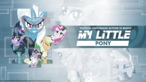 MLP tactical espionage action is magic by saturdaymorningproj