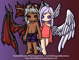 .:TheChibiMascots:.FINISHED by TheChibiPhoenix