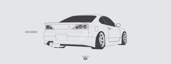 Nissan Silvia S15 by Axle9