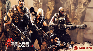 Gears of War 3 Wallpaper by CrossDominatriX5