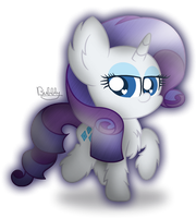 Rarity Chibi [+Speedpaint] by xThe-Bubbly-One