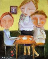Mother-In-Law's Lunch by Monica-Blatton