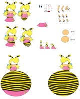 Saffron Bee Character Builder by shadevore