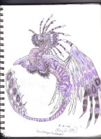 Sea Dragon (Lionfish?) by Saphira1334