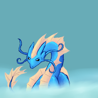 Water dragon by speedcow12