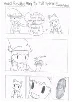 Worst possible way to troll Reimu by overlibertyshead