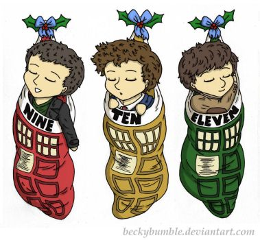 Three little doctors by BeckyBumble