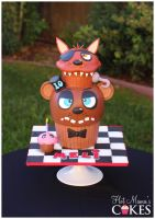 Five Nights at Freddy's Cake by hotmamascakes