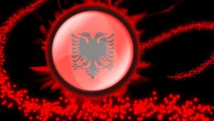 Albanian Flag PSP by terenci