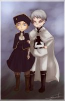 Prussia and Holy Roman Empire 1 by saeru-bleuts