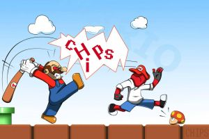 Mario and Chips by TheChipsCut