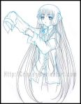 Free Doodle: Chiyuko by Crissey