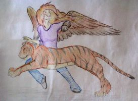 Alex and Tiger by RougeCerberus