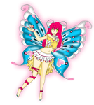 Sylphie, The Butterfly Fairey by PrincessDevin302