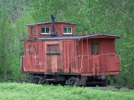 Old Caboose by livingsanctuary