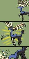 Top-heavy Xerneas by MasterOfGeckos
