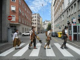 Abbey Steam Road by Steampunk-Italia