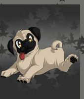 B'Day Pug by Kyrara