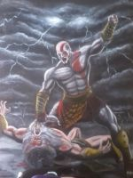 God Of War III by angell35art