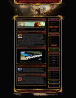 Burning Kingdoms Webdesign by King--Sora