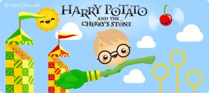 Harry Potato and the Cherry's Stone by FruityCuties
